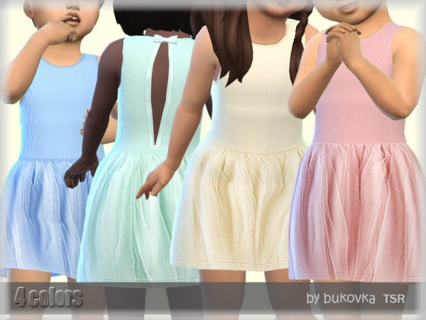 The Sims Resource: Dress Toddler by lillka