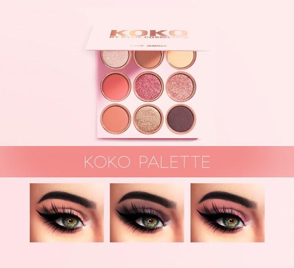Kenzar Sims: Koko palette