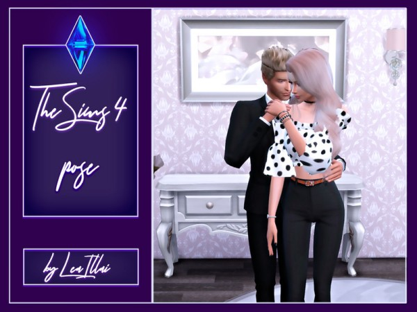 The Sims Resource: Couple pose   Romantic hugs by LeaIllai
