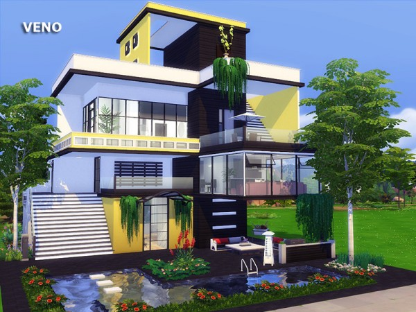 The Sims Resource: Veno House by marychabb