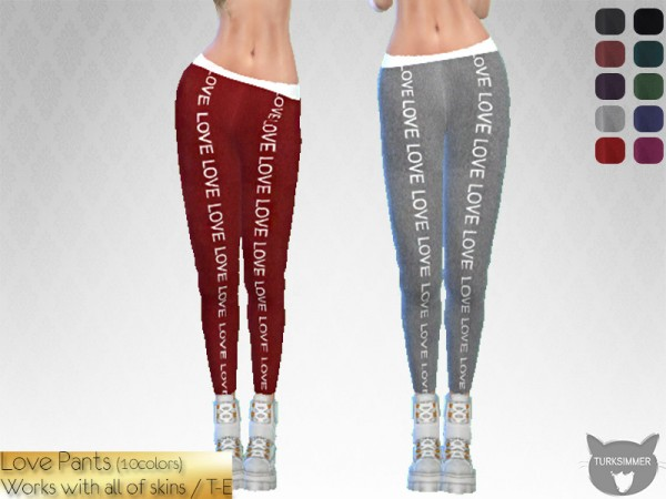 The Sims Resource: Love Pants by turksimmer