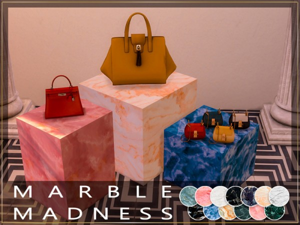 The Sims Resource: Marble Madness Table by Winner9