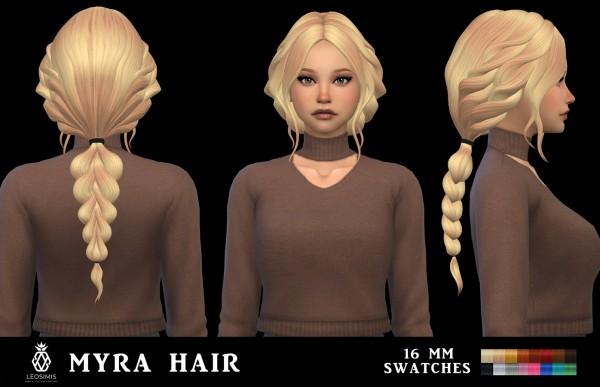 Leo 4 Sims: Myra Hair