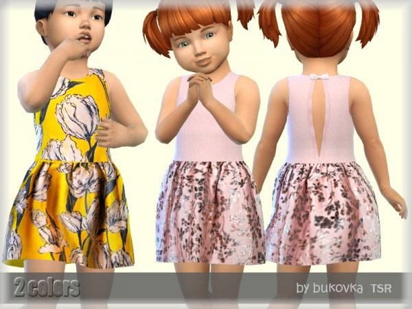 The Sims Resource: Dress Toddler by bukovka