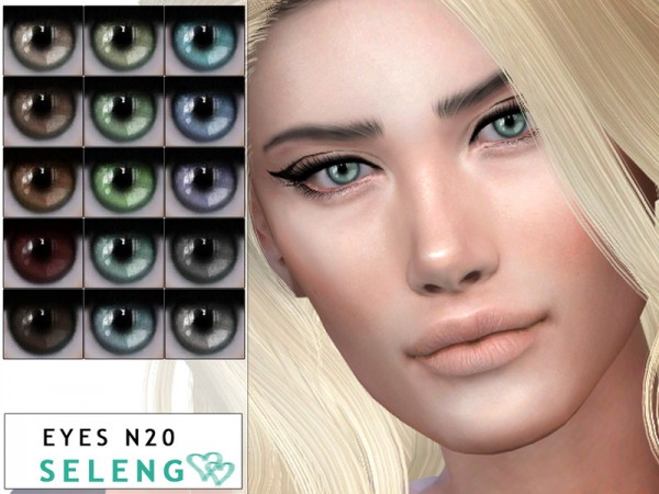 The Sims Resource: Eyes N20 by Seleng