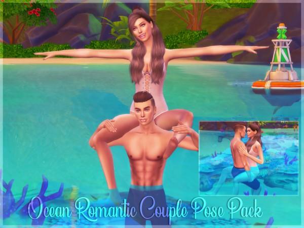 MSQ Sims: Ocean Romantic Couple Pose Pack