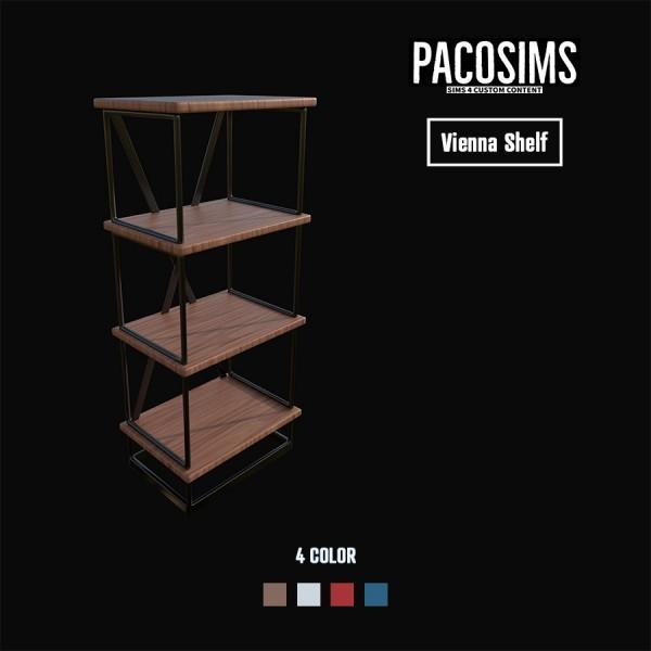Paco Sims: Vienna Shelf