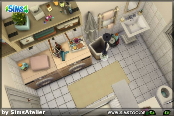 Blackys Sims 4 Zoo: Lonely streamlet Reno house by SimsAtelier
