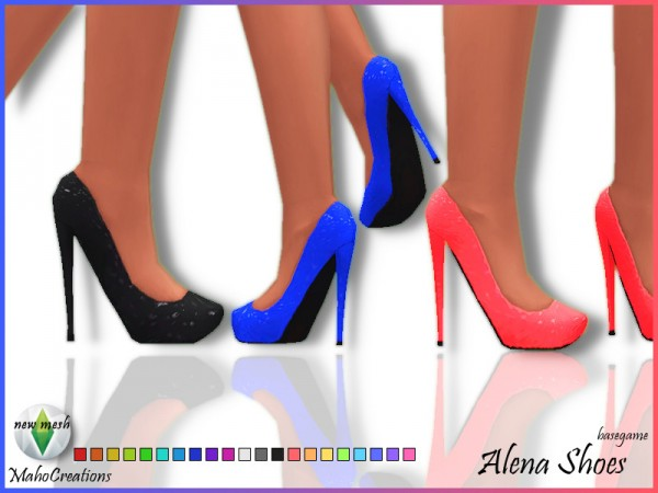 The Sims Resource: Alena Shoe by MahoCreations