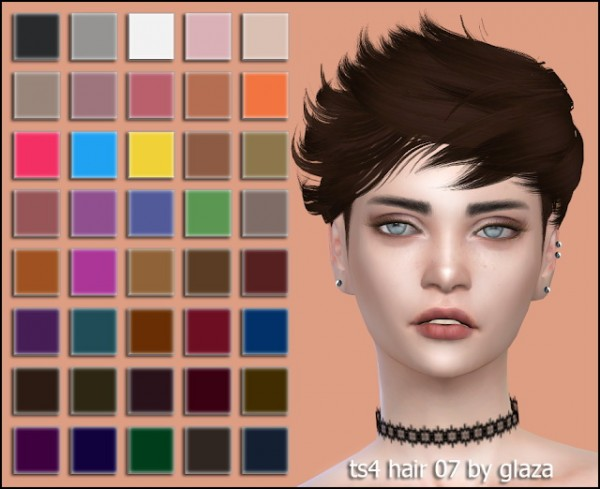 All by Glaza: Hair 07