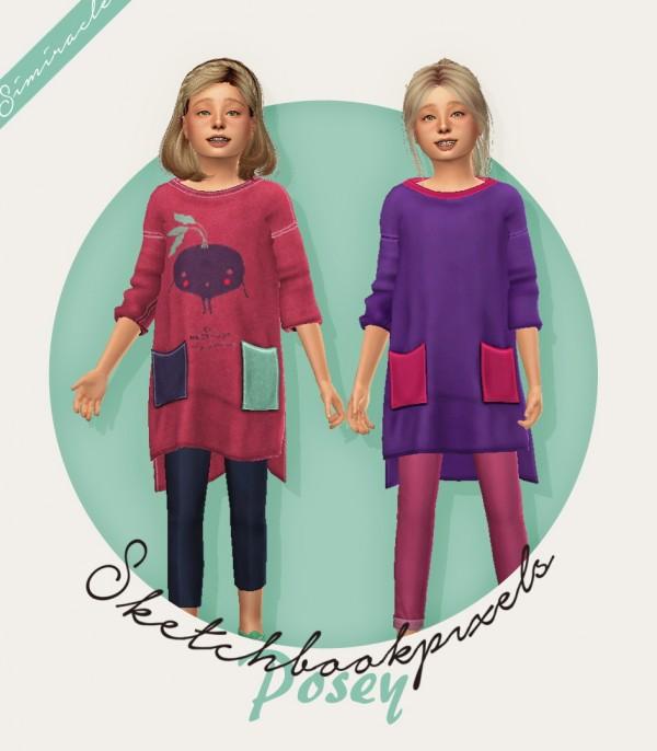 Simiracle: Posey Shirt   Kids Version