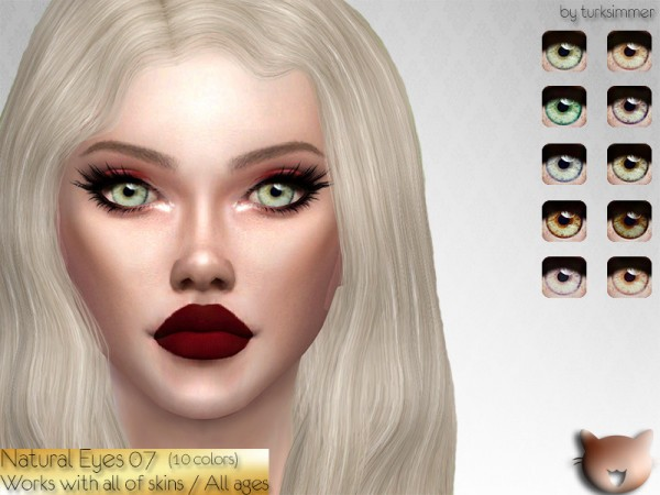 The Sims Resource: Natural Eyes 07 by turksimmer