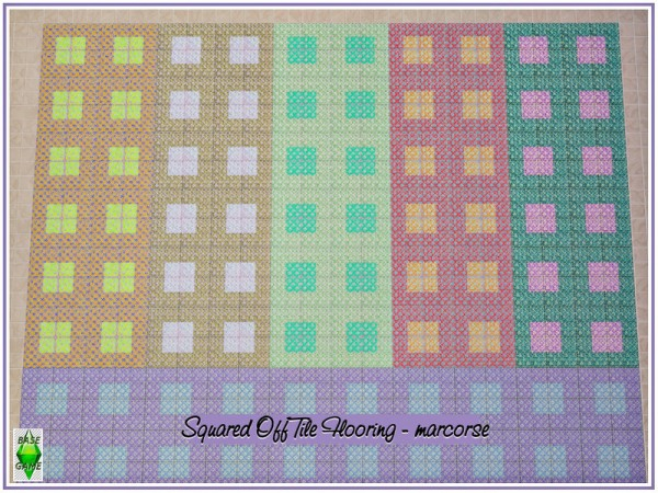 The Sims Resource: Squared Off Tile Flooring  by marcorse
