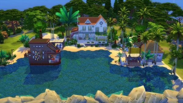 Studio Sims Creation: La Plage