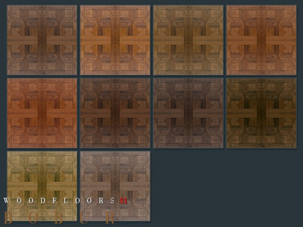 The Sims Resource: Wood floors 01 by Bobur