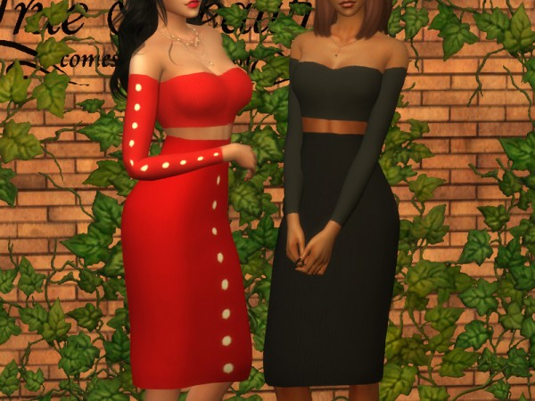 The Sims Resource: Melinda Skirt by Dissia
