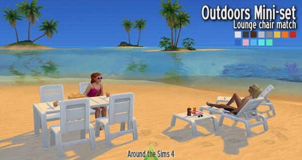 Around The Sims 4: Lounge chair match