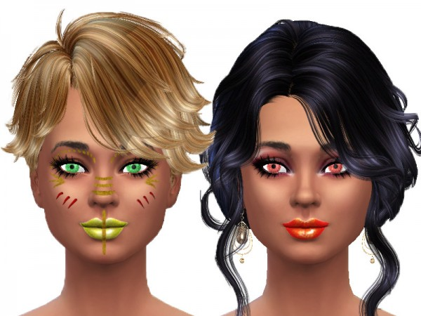 The Sims Resource: Colorful eyes by TrudieOpp
