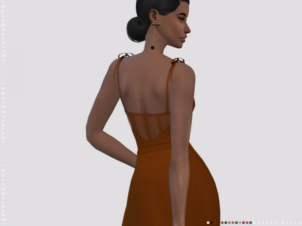 The Sims Resource: Behold Dress by Christopher067