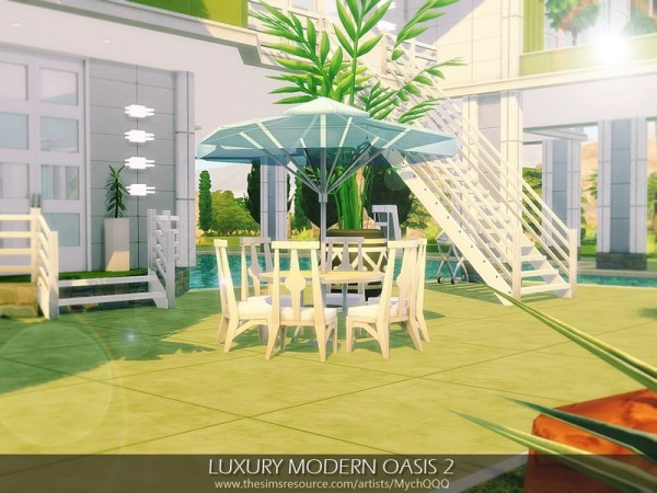 The Sims Resource: Luxury Modern Oasis 2 by MychQQQ