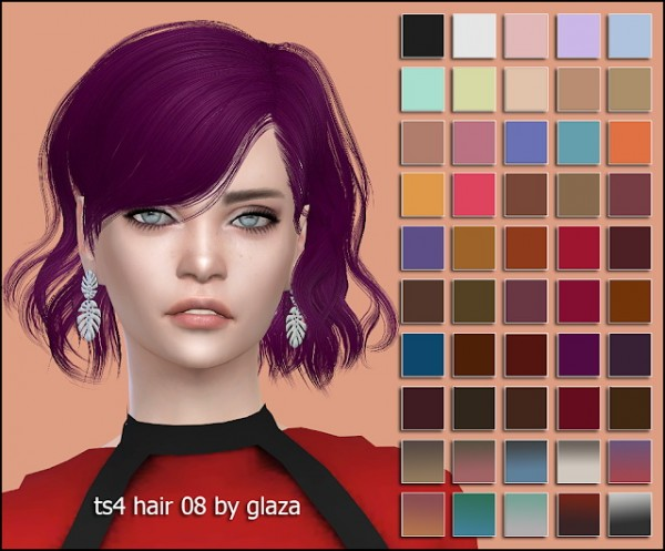 All by Glaza: Hair 08