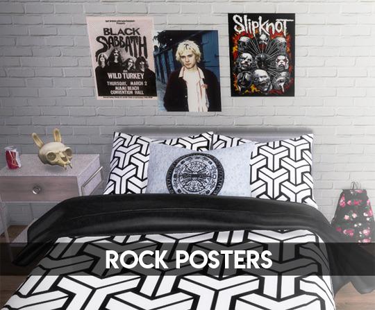 Descargas Sims: Rock Posters