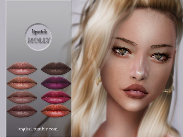 The Sims Resource: Lipstick Molly by ANGISSI