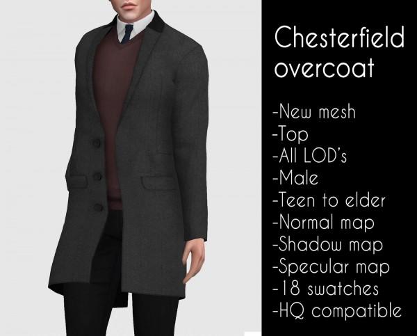 Lazyeyelids: Chesterfield overcoat