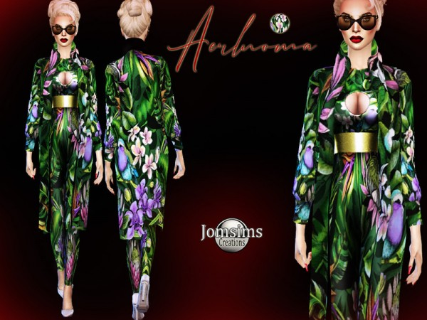 The Sims Resource: Aerlnoma outfit by jomsims