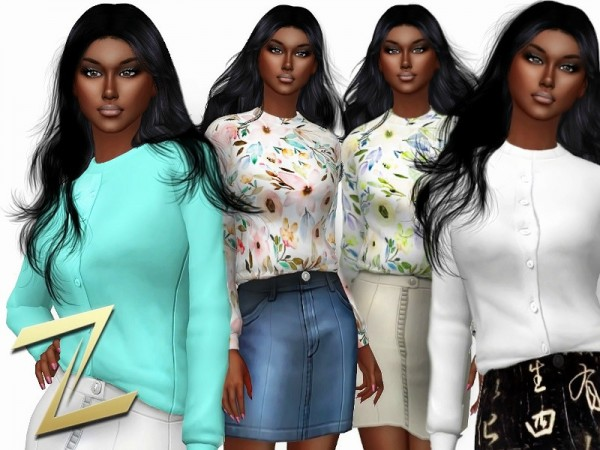 The Sims Resource: Snuggle Shirt by ZitaRossouw