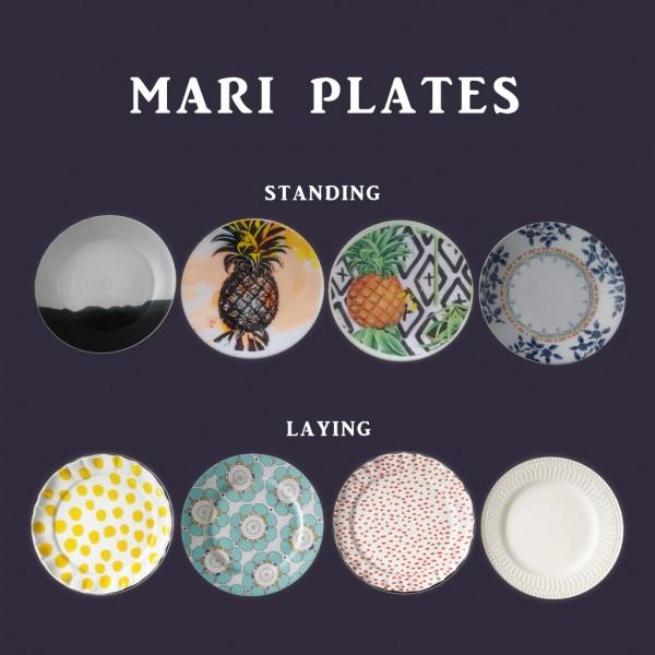 Leo 4 Sims: Mari Plates