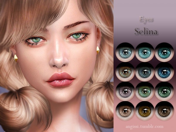 The Sims Resource: Eyes Selina by ANGISSI
