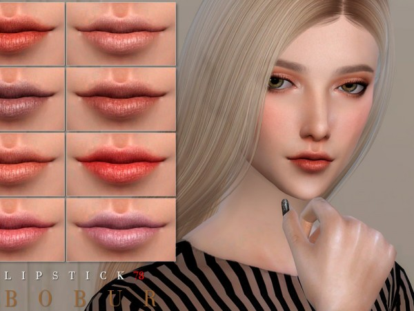 The Sims Resource: Lipstick 78 by Bobur3