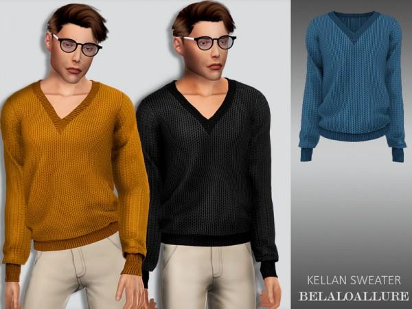 The Sims Resource: Kellan sweater by belal1997