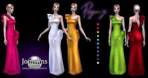 Jom Sims Creations: Flegmz Dress