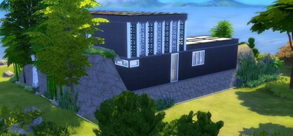 Mod The Sims: Villa Rock (NO CC) by valbreizh