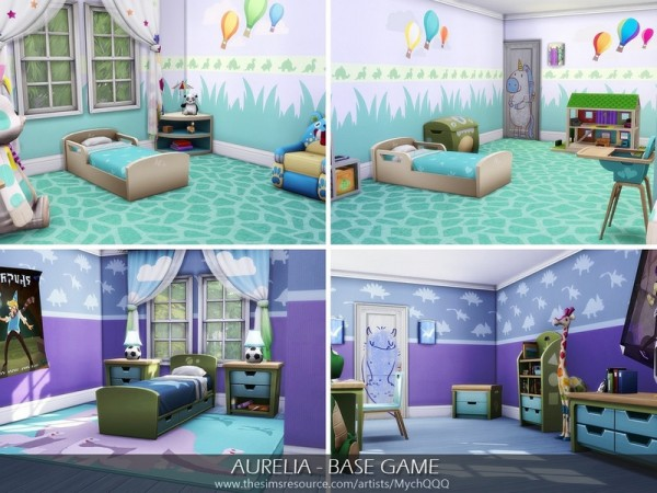 The Sims Resource: Aurelia House by MychQQQ
