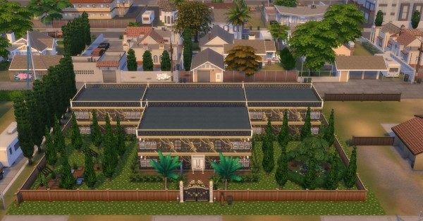 Luniversims: Villa britana Defi  by  Maman PandiinOu
