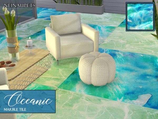 The Sims Resource: Oceanic Tiles by neinahpets
