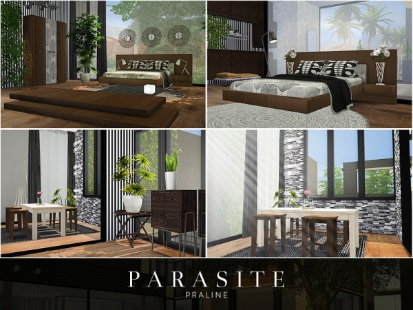 The Sims Resource: Parasite House by Pralinesims