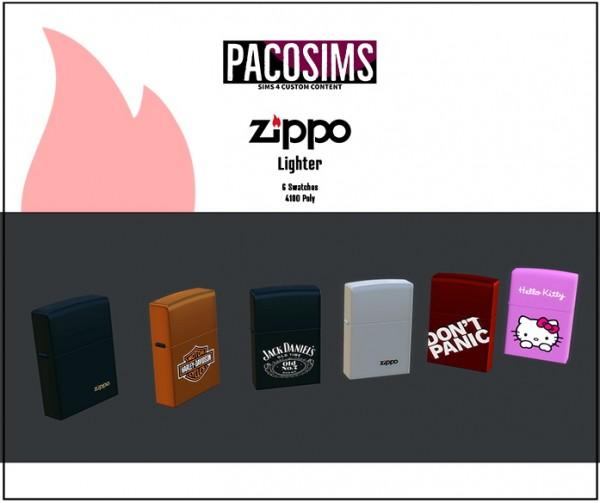 Paco Sims: Zipp Lighter