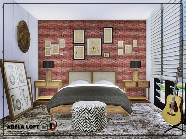 The Sims Resource: Adela loft by Danuta720