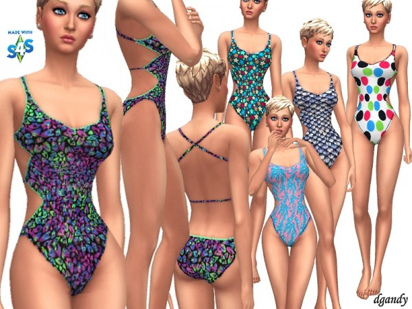 The Sims Resource: Swimsuit 201906 10 by dgandy