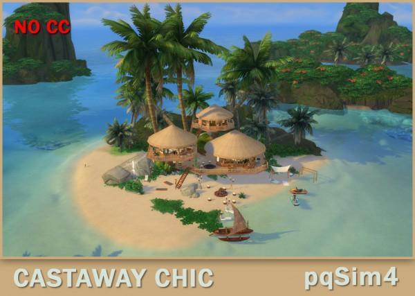 PQSims4: Living Castaway Chic