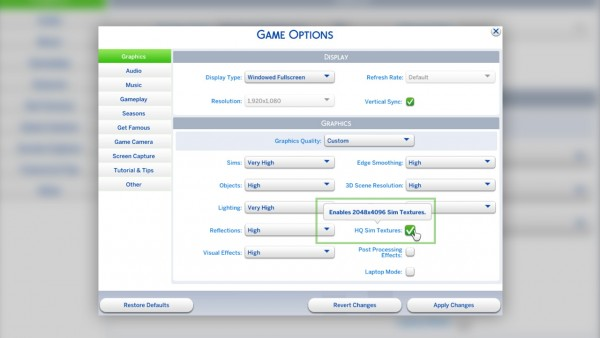 Mod The Sims: HQ Mod Switch by jwofles