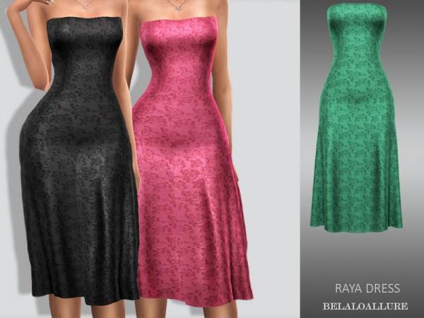 The Sims Resource: Raya dress by belal1997