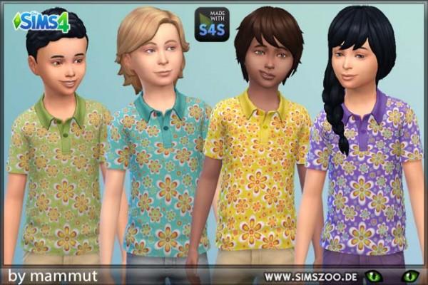Blackys Sims 4 Zoo: Hippie shirt 1 by mammut