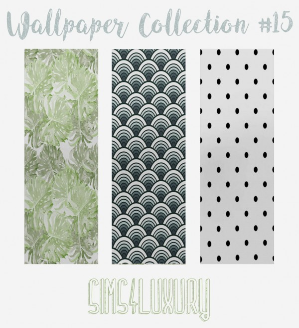Sims4Luxury: Wallpaper Collection 15