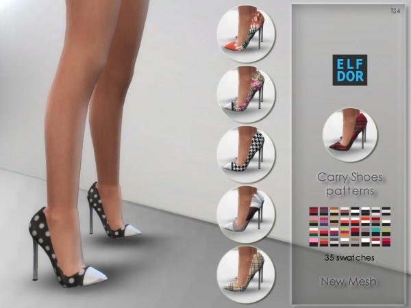 Elfdor: Carry Shoes   Patterns version