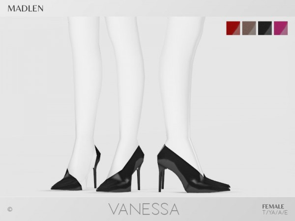 The Sims Resource: Madlen Vanessa Shoes by MJ95